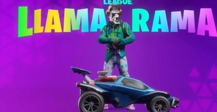 "Rocket League - Tráiler de Evento ""Llama-Rama 2021"""