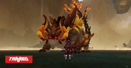 Filtración de Genshin Impact Ver.1.5 muestra al nuevo jefe Azhdaha (Dahaka), en misión de personaje Zhongli