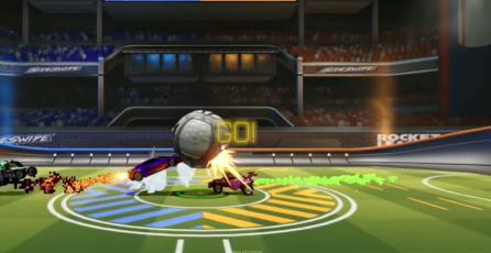 Rocket League Sideswipe - Jugabilidad de la Alpha