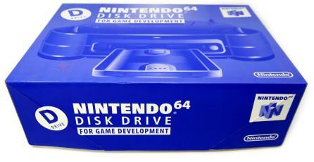 Así luce un kit de desarrollo del Nintendo 64 Disk Drive en perfecto estado