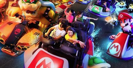 Mario Kart Ride de Super Nintendo World se puede actualizar como un videojuego