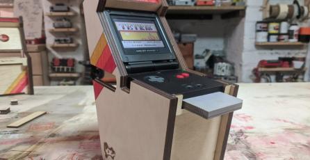 Kit te deja transformar tu GBA SP en un minigabinete arcade