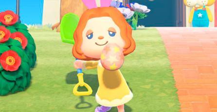 El perturbador conejo de Pascua vuelve a <em>Animal Crossing: New Horizons</em>