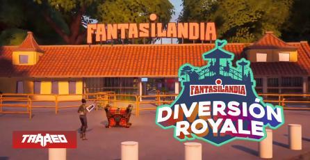 Crean replica de Fantasilandia para torneo de Fortnite con 1 millón de pesos en premios