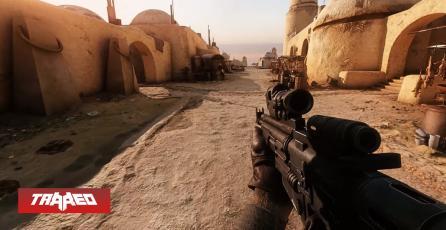 Star Wars Battlefront 2 luce real con estos mods, Ray Tracing, 4K y una RTX 3090c