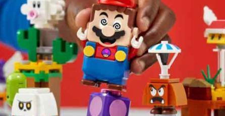 La línea Super Mario de LEGO ya tiene su propia tienda en Amazon México
