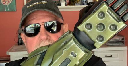<em>Halo</em>: actor del Master Chief donó miles de dólares para producir prótesis para niños