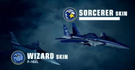 """ACE COMBAT 7 - Tráiler DLC """"Experimental Aircraft Series"""""""