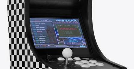 Prestigiosa marca de moda vende un arcade mini...con juegos pirata