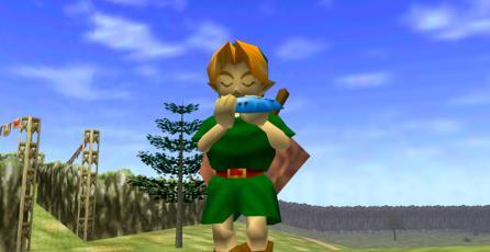 Fan de <em>Zelda</em> crea un mod de <em>Ocarina of Time</em> con estilo gráfico de <em>Wind Waker</em>