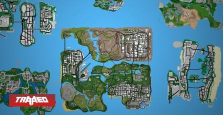 """Este es """"GTA Underground"""", el mod que une a todas las ciudades principales de GTA en un único y enorme mapa"""