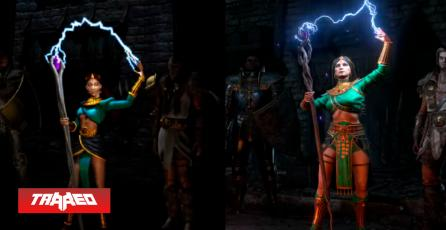 Vídeo compara Diablo 2 Resurrected con el original y el cambio se hace evidente