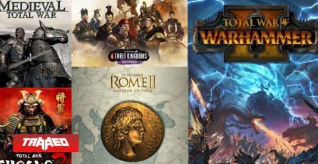 36 millones de copias vendidas alcanza los juegos de la saga Total War