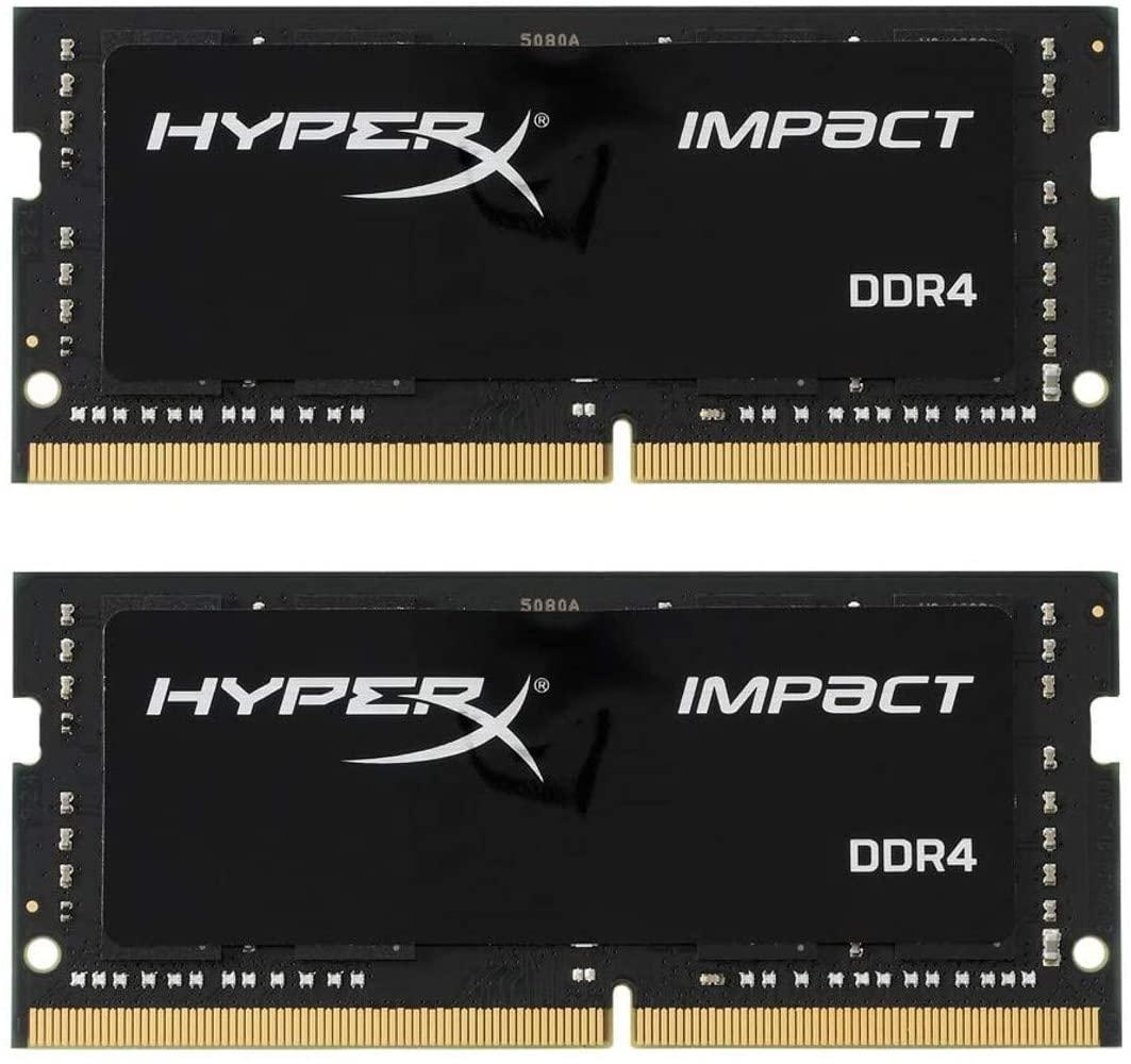 Kingston HyperX Impact 2 Módulos de Memoria RAM 32GB (2X16GB) 2400MHz