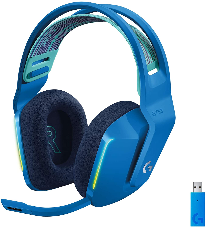 G733 LIGHTSPEED Wireless RGB Gaming Headset