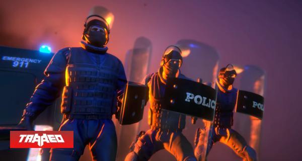 """Conviértete en un policía antidisturbios con """"Riot Control Simulator"""" y defiende todas las estatuas que te encarguen"""