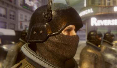 Conviértete en un policía antidisturbios gracias a <em>Riot Control Simulator</em>