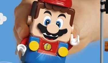 ¿Qué? Figuras de LEGO Super Mario comienzan a preguntar por Luigi