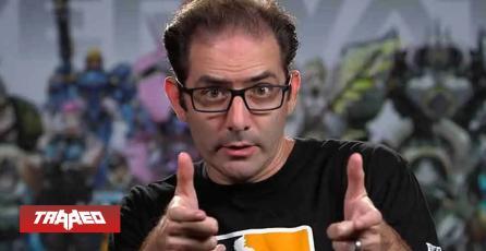 TRAGEDIA EN OVERWATCH: Jeff Kaplan ha dejado de trabajar en Blizzard
