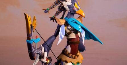 First 4 Figures da más detalles sobre su figura de Revali de <em>Zelda: Breath of the Wild</em>