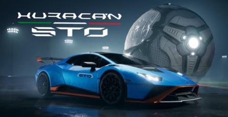 "Rocket League - Tráiler DLC ""Lamborghini Huracán STO"""