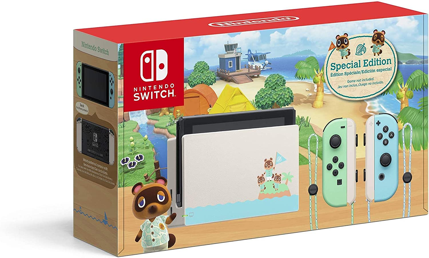 Nintendo Switch 1.1 Animal Crossing