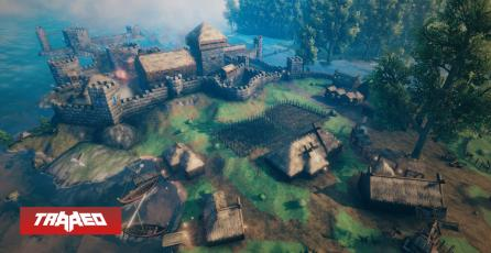 Modders quieren volver a Valheim un MMO para 1,000 jugadores