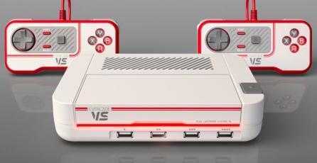 Se anuncia el Evercade VS, una consola de sobremesa con estilo retro