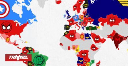 Estudio revela que Marvel es el REY en toda América, menos en Chile, y también podemos saber los superhéroes más queridos de cada país