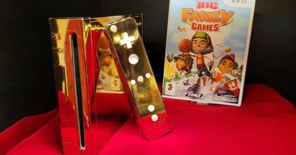 Subastarán Wii chapado en oro y personalizado para la Reina de Inglaterra | LevelUp