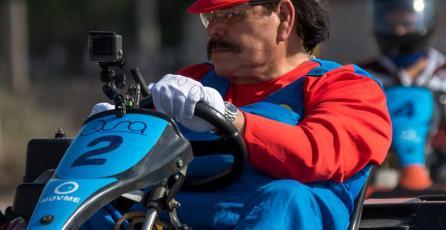 Candidato de Morena se viste de Mario Bros. y gamers lo detestan
