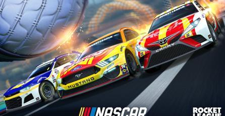 <em>Rocket League</em> - NASCAR 2021 Fan Pack Trailer