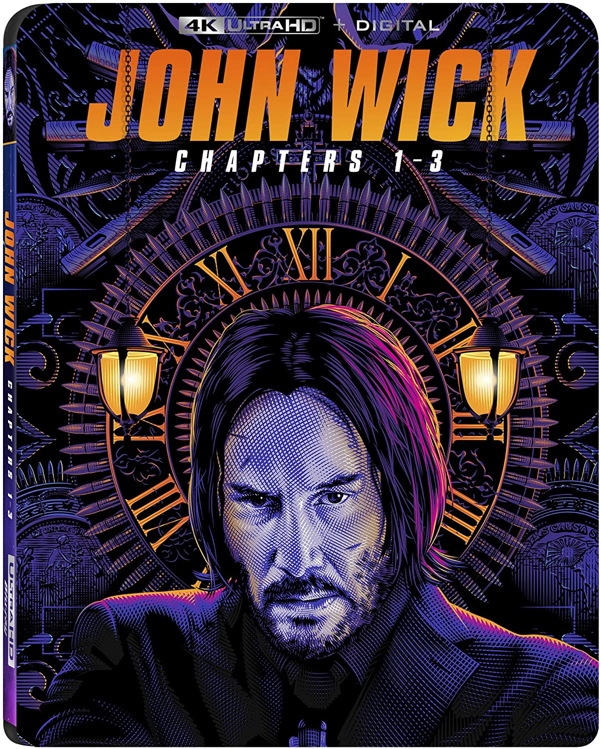 John Wick 1-3 (4K + DIGITAL Blu-ray)