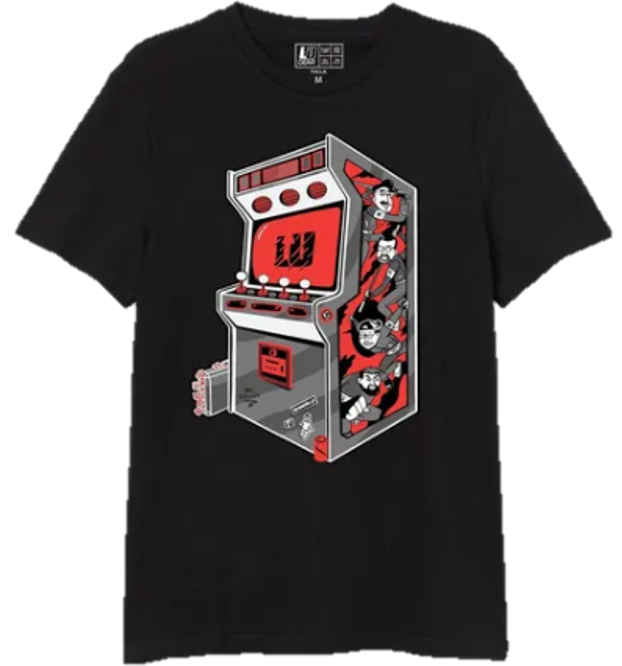 Arcade - Playera Oficial Level Up