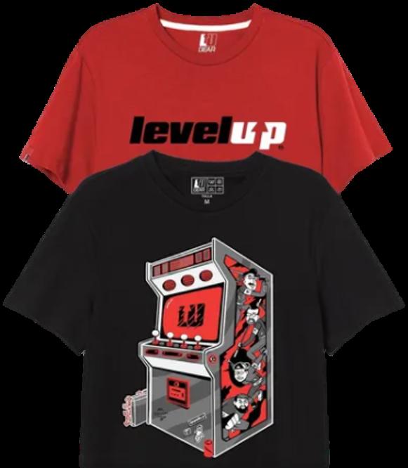 Arcade+ - Pack De 2 Playeras