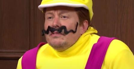 Elon Musk interpretó a Wario en un sketch de Saturday Night Live