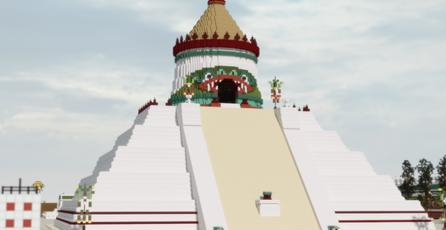Mexicano recrea Tenochtitlan en <em>Minecraft</em> en un proyecto que te dejará con la boca abierta