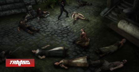 Jugador de Skyrim ha matado a todos los NPC y ahora se encuentra completamente solo