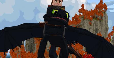 <em>Minecraft</em> recibe por sorpresa un DLC de <em>Cómo entrenar a tu dragón</em>