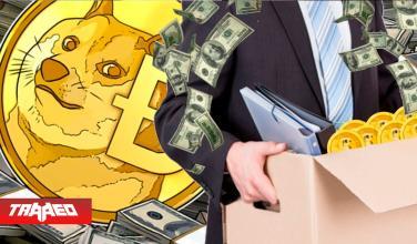Gerente de importante banca renuncia luego de ganar millones con Dogecoin