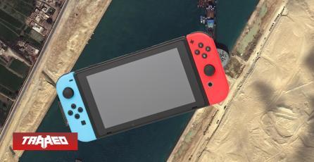 Nintendo revela que el Covid y el incidente del Canal de Suez están afectando la distribución mundial de Nintendo Switch
