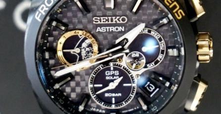 Kojima presume el reloj edición limitada que diseño Seiko para Kojima Productions