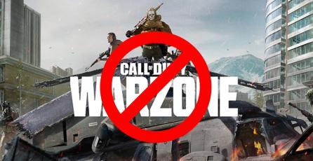 ¡Martillazo! Le dan ban a  otros 30,000 usuarios de <em>Warzone</em>