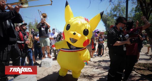 La Tía Pikachu, personaje viral en las manifestaciones de Chile logra ser electa para el proceso constituyente del país