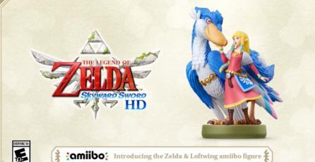 """The Legend of Zelda: Skyward Sword - Tráiler de Amiibo """"Zelda & Loftwing"""""""