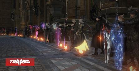 Jugadores de Final Fantasy XIV se reúnen para rendir homenaje a Kentaro Miura y repletan los servidores del juego