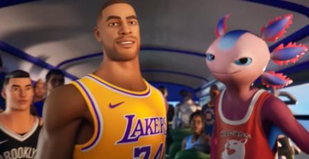 Fortnite x NBA - Tráiler de Crossover