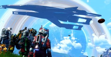 "No Man's Sky - Tráiler ""Mass Effect Normandy"""