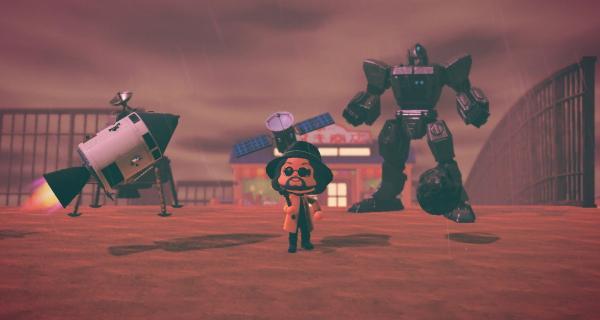 Isla temática de <em>Resident Evil Village</em> en <em>Animal Crossing: New Horizons</em>