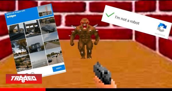 ¿Cansado de los tradicionales CAPTCHAS?: Fanático desarrolla una alternativa a este basado en Doom